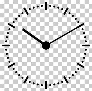 Clock Face Analog Signal Analog Watch 12-hour Clock PNG