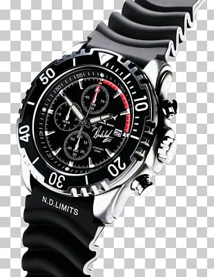 Diving Watch Clock Face Automatic Watch Bracelet PNG