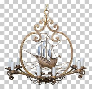 Chandelier Candlestick Light Fixture Ceiling PNG