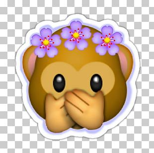 Emoji Sticker Wreath Flower Crown PNG