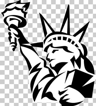 Statue Of Liberty Illustration Graphics PNG