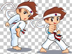 Taekwondo Animation Cartoon Martial Arts PNG