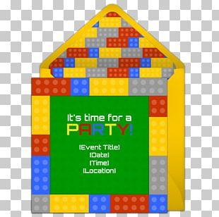 Wedding Invitation Toy Block Birthday Party LEGO PNG