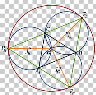 Johnson Circles Triangle Point Geometry PNG