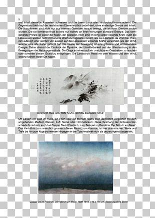 Zen In Der Kunst Des Malens Mountain Village Art History Text PNG