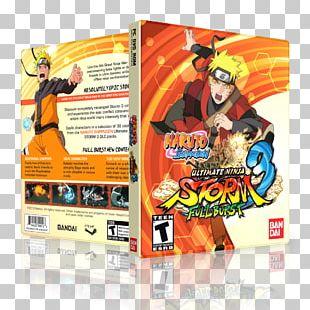 Naruto Shippuden: Ultimate Ninja Storm 3 Full Burst Naruto Shippuden: Ultimate Ninja Storm Revolution Bandai Namco Entertainment Video Game PNG