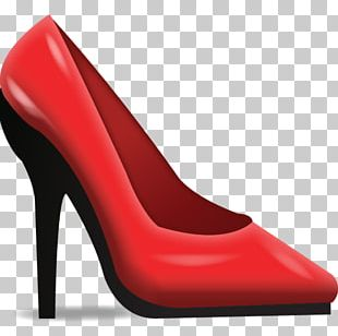Shoe High-heeled Footwear Emoji Sneakers Stiletto Heel PNG