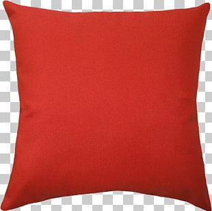 Large Red Pillow PNG