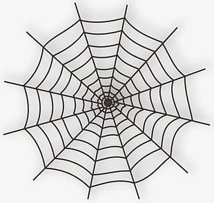 Halloween Cobwebs PNG