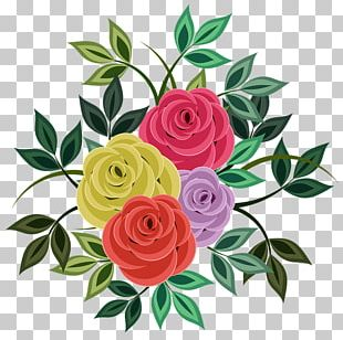Garden Roses Floral Design Cabbage Rose Cut Flowers Flower Bouquet PNG