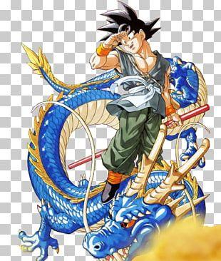 Goku Shenron Majin Buu Dragon Ball PNG