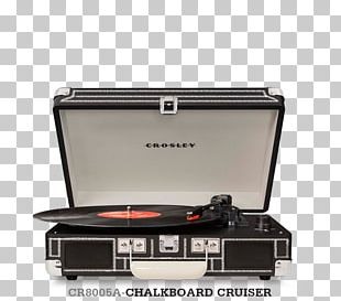 Crosley Cruiser CR8005A Phonograph Record Crosley CR8005A-TU Cruiser Turntable Turquoise Vinyl Portable Record Player PNG