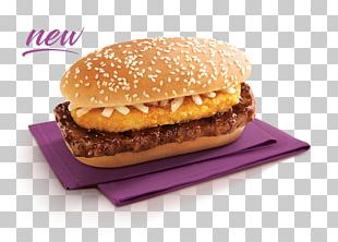 Hamburger Fast Food Cheeseburger McDonald's Big Mac Breakfast Sandwich PNG