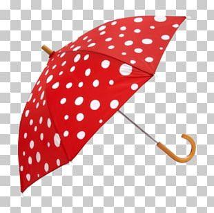 Umbrella Polka Dot Red Amazon.com Ruffle PNG