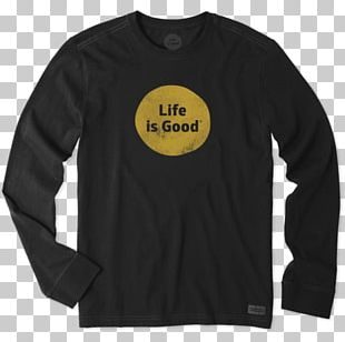 T-shirt Hoodie Life Is Good Company Clothing Top PNG