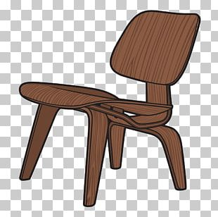 Eames Lounge Chair Wood Table Platform Bench Wire Chair (DKR1) PNG