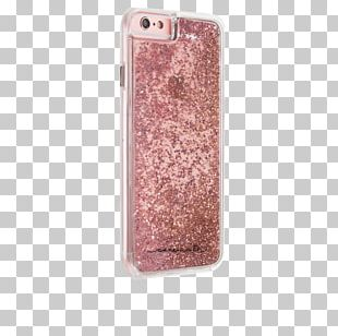IPhone 6 Case-Mate Apple Smartphone Rose Gold PNG