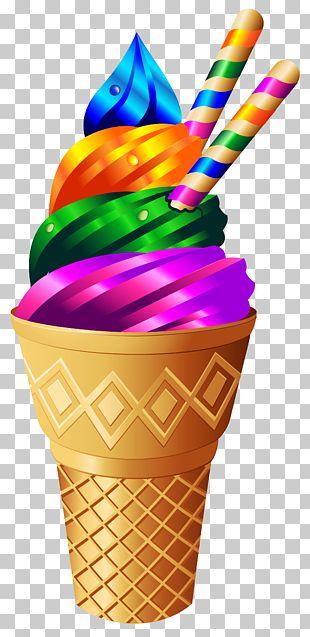 Ice Cream Cake Sundae Cupcake PNG