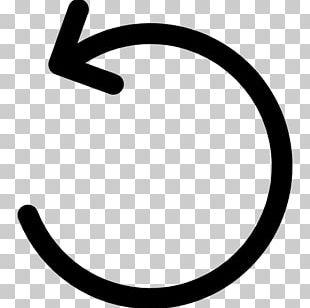 Clockwise Arrow Rotation Circle Computer Icons PNG