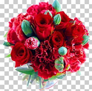 Flower Bouquet Wedding Rose Floristry PNG