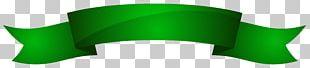 Green Ribbon Banner PNG
