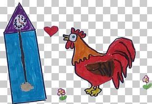 Rooster Cartoon Chicken As Food Beak PNG