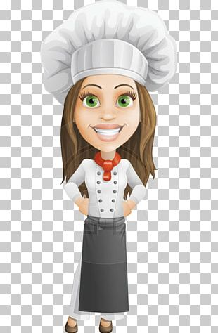 Chef Cartoon Female Cooking PNG