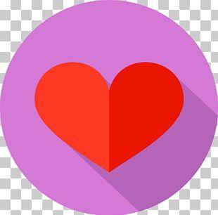 Magenta Purple Violet Love Circle PNG