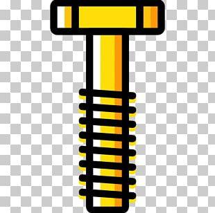 Screw Flat Design Icon PNG
