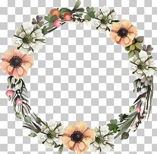 Wreath Floral Design Flower Leaf PNG