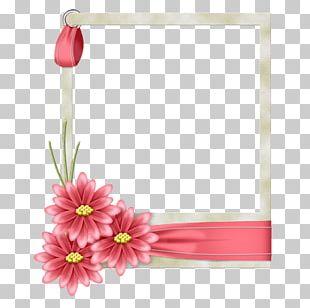 Frames Borders And Frames Floral Design Flower PNG