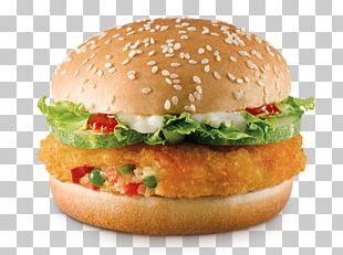 Veggie Burger Hamburger Vegetarian Cuisine McDonald's Big Mac Cheeseburger PNG