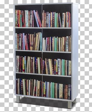Shelf Bookcase Furniture Library PNG