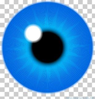 Eye Iris Blue PNG