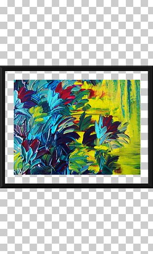 Modern Art Painting Abstract Art Canvas PNG