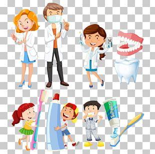Dentistry Toothbrush Illustration PNG