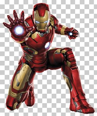 Iron Man Front PNG