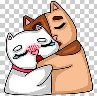 Whiskers Sticker VKontakte Telegram PNG