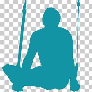 Silhouette Gymnastics Rings Artistic Gymnastics PNG