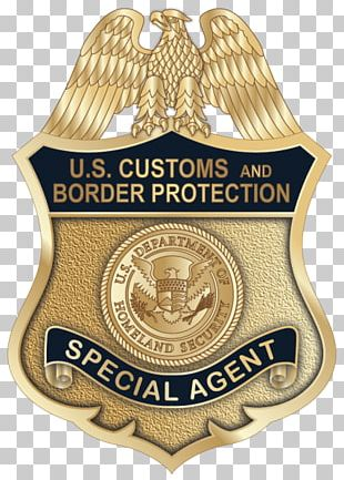 Badge U.S. Customs And Border Protection United States Federal Bureau Of Investigation Special Agent PNG