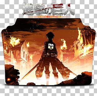 Eren Yeager Attack On Titan Mikasa Ackerman Anime Art PNG