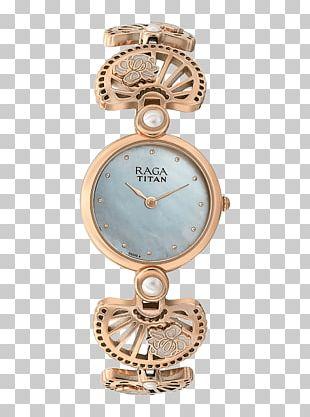 Analog Watch Titan Company Strap Woman PNG