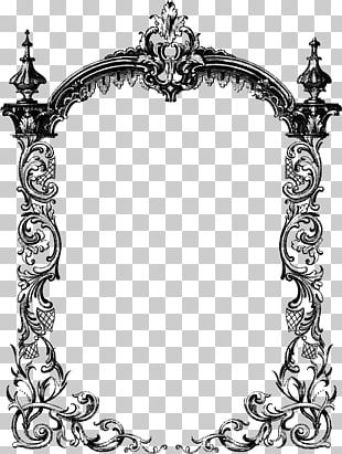 Borders And Frames Frames 200 Victorian Fretwork Designs: Borders PNG