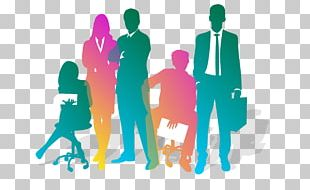 Business Teamwork Silhouette PNG