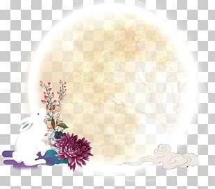 Mooncake Moon Rabbit Mid-Autumn Festival PNG