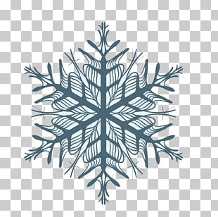 Snowflake Blue Transparency And Translucency PNG