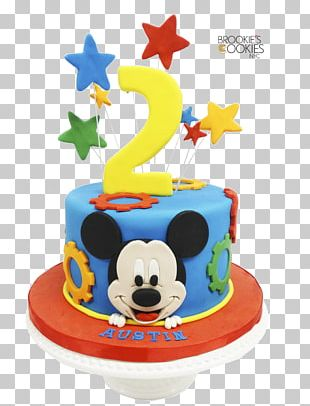 Birthday Cake Cupcake Mickey Mouse Cookie Cake Lekach PNG