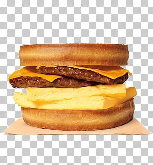 Hamburger Breakfast Sausage Burger King Breakfast Sandwiches PNG