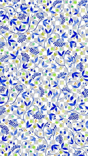 Blue Pattern Background PNG
