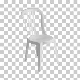 No. 14 Chair Table Plastic White PNG